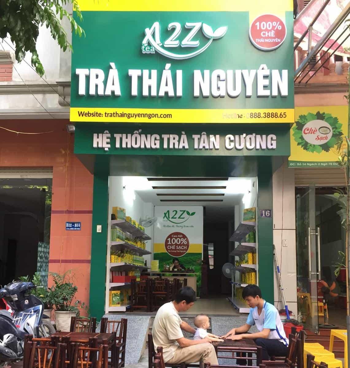 Địa chỉ trà Thái Nguyên Ngon Tại Sơn La